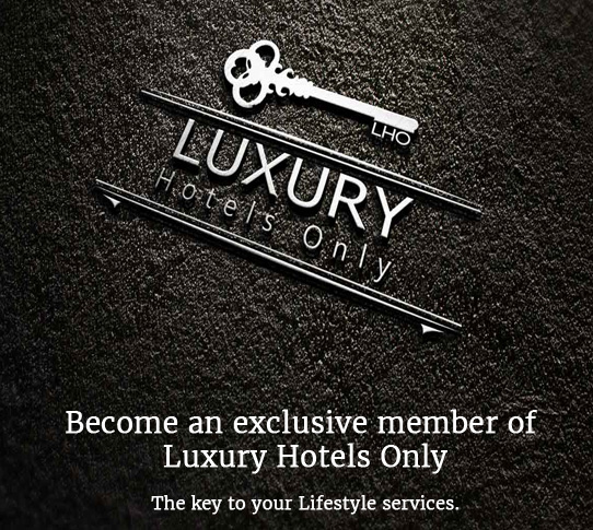 Luxury hotels only club member VIP