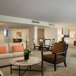 tower suite turnberry isle living area